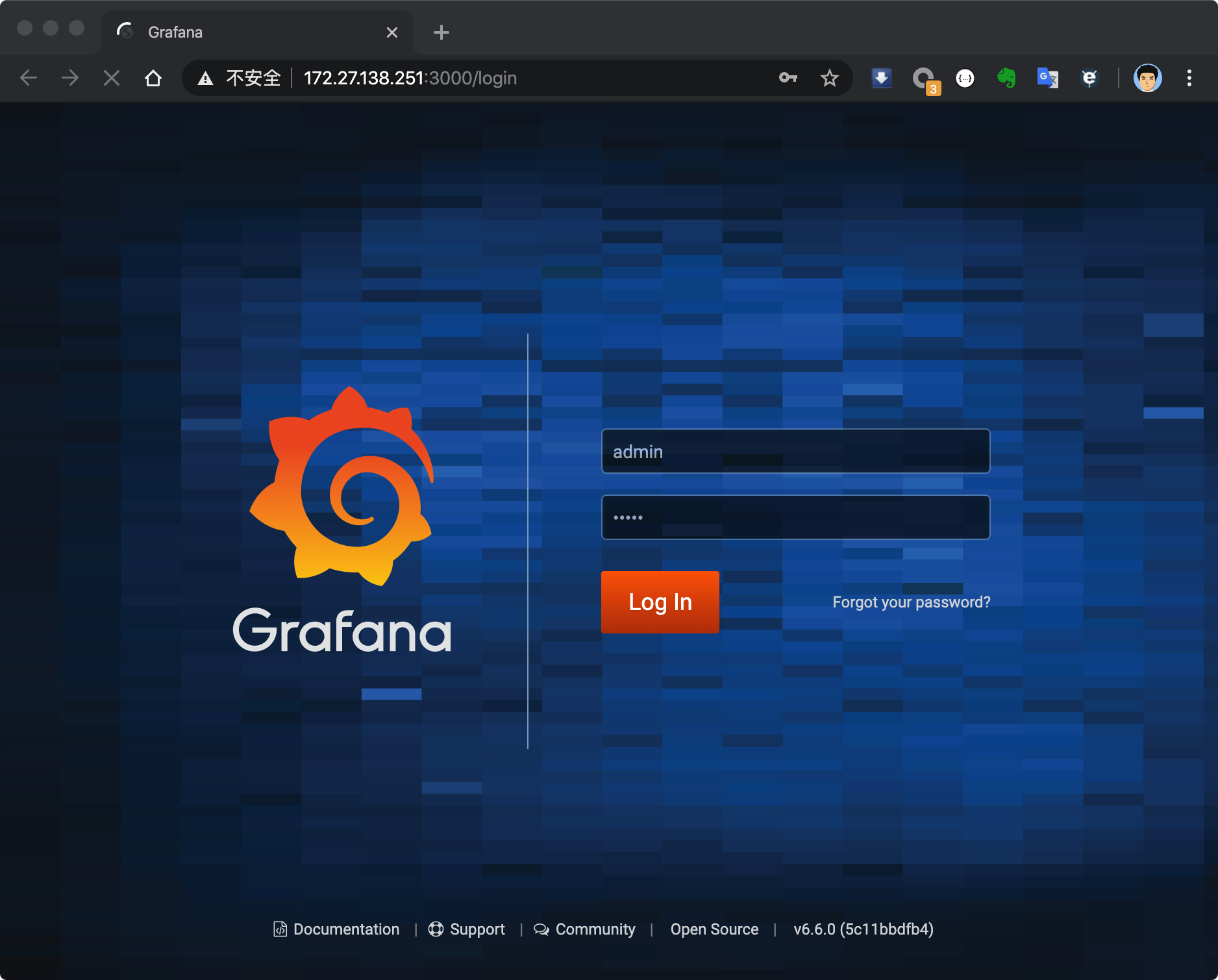 grafana_login